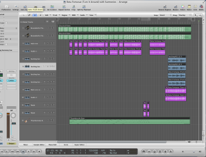 Logic project with harmonies